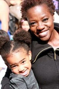 Viola Davis and Her Daughter