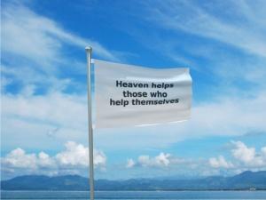 Heaven helps